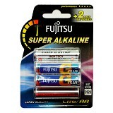 FUJITSU Baterai Super Alkaline G Plus High Tech AA - Battery and Rechargeable