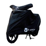 FUNCOVER Cover Motor Size L - Hitam - Cover Motor
