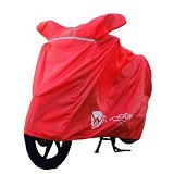FUNCOVER Cover Motor Size XL - Merah - Cover Motor