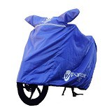 FUNCOVER Cover Motor Size XL - Biru - Cover Motor