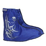 FUNCOVER Cover Shoes Jas Sepatu Tribal Design Size XL - Biru - Jas Hujan
