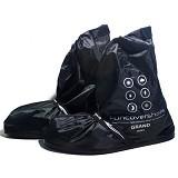 FUNCOVER Cover Shoes Jas Sepatu Grand Size L - Hitam - Jas Hujan