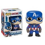 FUNKO Pop Captain America (Merchant) - Movie and Superheroes