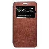 GALENO Flip Cover Huawei Y5 - Brown (Merchant) - Casing Handphone / Case
