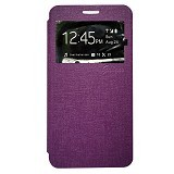 GALENO Flip Cover Samsung Galaxy J3 - Purple (Merchant) - Casing Handphone / Case