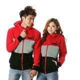 GALLERY FANNY SHOP Jaket Puma Red - Jaket Casual Wanita