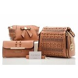 GALLERY FANNY SHOP Tas Victoria Beckham Zennor 0ZBV665 [VB073] - Brown (Merchant)