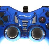 GAMESHOCK Double Getar [BF-713] - Blue (Merchant) - Gaming Pad / Joypad