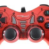 GAMESHOCK Double Getar [BF-713] - Red (Merchant) - Gaming Pad / Joypad