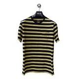 GAP Pocket Tee Double Stripes Size S - Navy Yellow (Merchant)