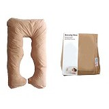 GARYMAN Maternity Pillow U Dengan Sarung Bantal [BZ-979 Brown] - Brown - Feeding, Boppy Pillows Covers