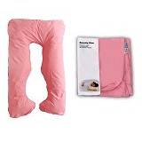 GARYMAN Maternity Pillow U Dengan Sarung Bantal [BZ-979 Pink] - Pink - Feeding, Boppy Pillows Covers