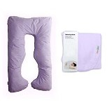 GARYMAN Maternity Pillow U Dengan Sarung Bantal [BZ-979 Purple] - Purple - Feeding, Boppy Pillows Covers