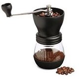 GATER Coffee Grinder Ceramic [LT075] - Black - Penggiling Kopi / Coffee Grinder