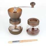 GATER Coffee Grinder Ceramic [LT076] - Brown - Penggiling Kopi / Coffee Grinder