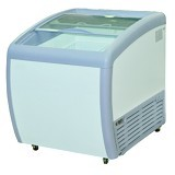 GEA Sliding Curve Glass Freezer [SD-160BY] - Chest Freezer Sliding Glass
