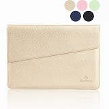 GEARMAX Envelope Waterproof PU Laptop Sleeve Case Bag 12 Inch [GM4027] - Gold (Merchant) - Notebook Sleeve