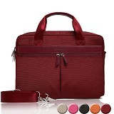 GEARMAX Canvas Nylon Oxford Business Laptop Sleeve Case Bag 13.3 - 15 Inch [GM4005] - Maroon (Merchant) - Notebook Sleeve