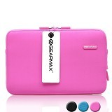 GEARMAX Classic Lycra Fabric Laptop Sleeve Case Bag 11.6 - 12 Inch [GM1701] - Pink - Notebook Sleeve