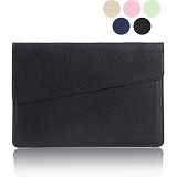 GEARMAX Envelope Waterproof PU Laptop Sleeve Case Bag 15.4 Inch [GM4027] - Black (Merchant) - Notebook Sleeve