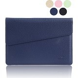 GEARMAX Envelope Waterproof PU Laptop Sleeve Case Bag 15.4 Inch [GM4027] - Dark Blue (Merchant) - Notebook Sleeve