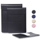 GEARMAX Leather Laptop Case Cover Sleeve Bag 11.6 Inch [GM4028] - Black (Merchant) - Notebook Sleeve