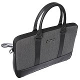 GEARMAX Slim Laptop houlder Bag 13 - 14 Inch [GM4022] - Black (Merchant) - Notebook Shoulder / Sling Bag