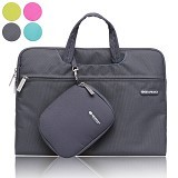 GEARMAX Waterproof Canvas Oxford Laptop Sleeve Case Bag 11.6 Inch [GM3910] - Black (Merchant) - Notebook Sleeve