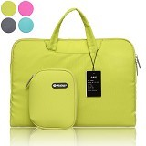 GEARMAX Waterproof Canvas Oxford Laptop Sleeve Case Bag 11.6 Inch [GM3910] - Green (Merchant) - Notebook Shoulder / Sling Bag