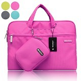 GEARMAX Waterproof Canvas Oxford Laptop Sleeve Case Bag 15.4 Inch [GM3910] - Pink (Merchant) - Notebook Sleeve