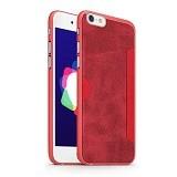 GEARMAX Wiwu Premium iPhone 6 Plus/6s Plus Case 5.5 Inch [SJ-001] - Red (Merchant) - Casing Handphone / Case