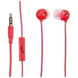 GENIUS Earphone [HS-M210] - Red (Merchant) - Earphone Ear Monitor / Iem