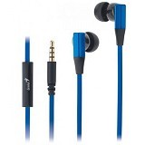 GENIUS Earphone [HS-M230] - Blue - Earphone Ear Monitor / Iem