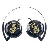 GENIUS Headphone [GHP-400F] - Black - Headphone Portable