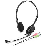 GENIUS Headset [HS-200C] - Black - Headset Pc / Voip / Live Chat