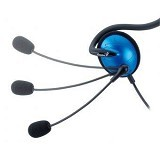 GENIUS Headset [HS-300A] - Blue - Headset PC / VoIP / Live Chat