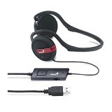 GENIUS Headset [HS-300U] - Headset PC / VoIP / Live Chat