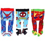 GERBER Legging Spiderman 3 Pcs [0-6M] - Legging and Stocking Bayi dan Anak