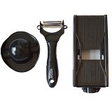GFGADGET 2 in 1 Miracle Peeler Shredded Grater - Black - Pengupas Buah / Sayur