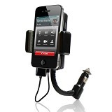 GFGADGET 3 in 1 FM Transmitter Car Charger Hands Free Kit for Apple iPhone 4 [GF1001] (Merchant) - Gadget Mounting / Bracket
