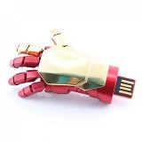 GFGADGET Iron Man Gloves USB 2.0 Flashdisk 16GB (Merchant) - Usb Flash Disk Basic 2.0