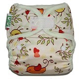 GG CLOTH DIAPER GG Little Motif Bird - Cloth Diapers / Popok Kain