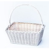 GIFTANDPARCEL Rectangular Carry Rattan [BI-SCR-M] - Container