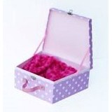 GIFTANDPARCEL Trapesium Hardbox Medium [BI-TH-M-softpink] - Soft Pink - Bungkus Kado / Gift Warp