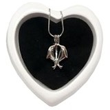 GIFTS SHOP Kalung Wish Pearl Necklace Dolphin (Merchant) - Kalung / Necklace