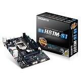 GIGABYTE Motherboard Socket LGA1150 [GA-H81M-S1] - Motherboard Intel Socket LGA1150