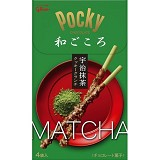 GLICO Pocky Matcha Almond Crush - Biskuit & Waffer