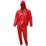 GO FITS Mantel Training Raincoat - Merah