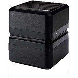 GO-ROCK Cube Stereo Speaker [TRMS03SB] - Black (Merchant) - Speaker Portable