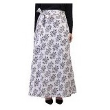 GOLDEECLOTH Skirt Pattern Victory - White